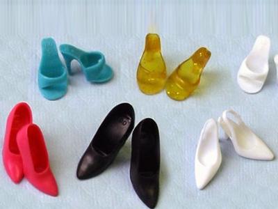 Туфли из пластилина. Поделки своими руками